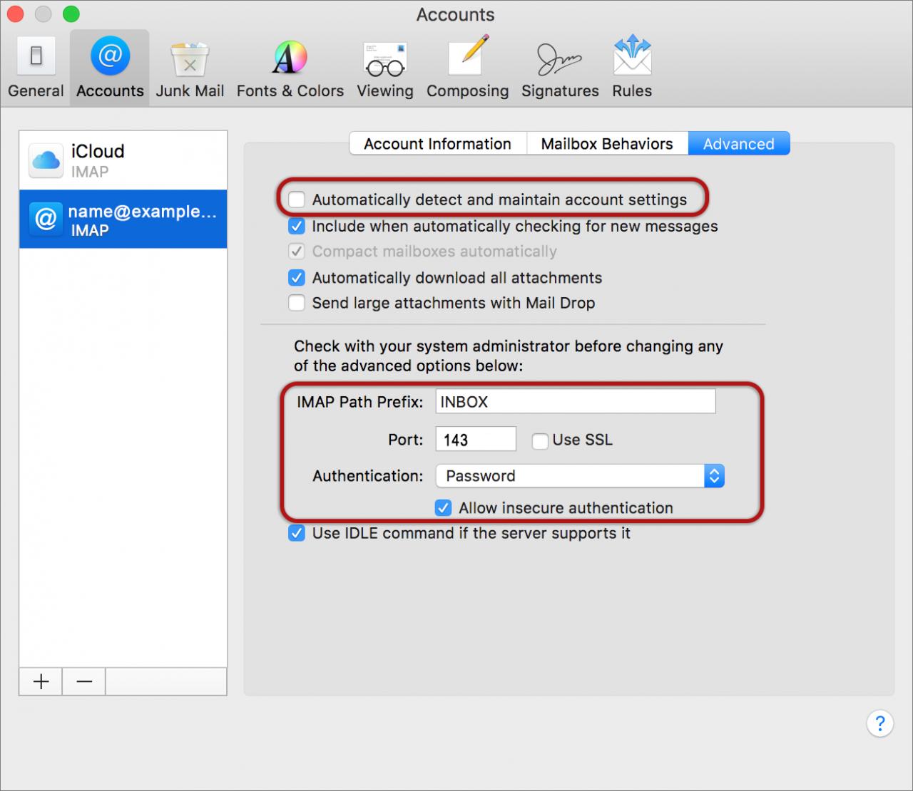 Mac Mail (OS X Yosemite) | Tsohost Knowledge Base