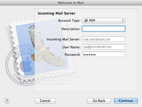 How to set-up email in Apple Mail - Powered by Kayako Help